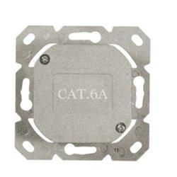 Inbouwdoos 2xRJ45 Cat6A Signal Wit